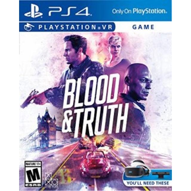 Blood & Truth VR (輸入版:北米) - PS4