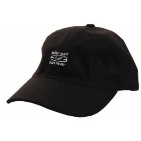 PGAC(PGAC)リネン刺繍キャップ Calif 897PA9ST1746 BLK (Men's)