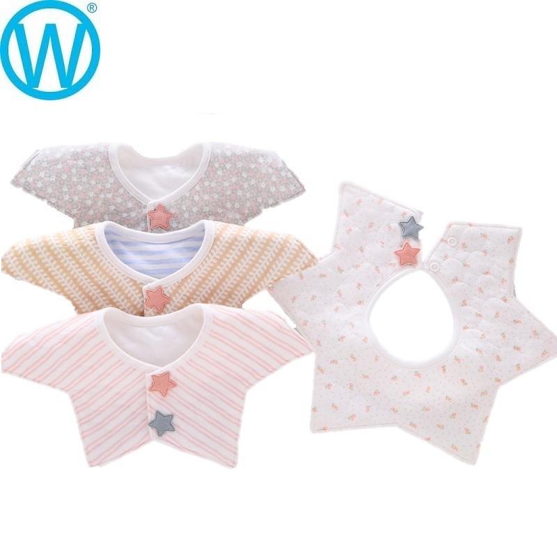可愛風格 360度防水口水巾 造型圍兜 領巾wanworld