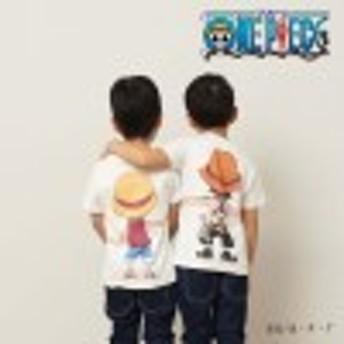 子供用半袖つながるTシャツ