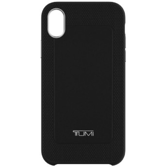 iPhone XR TUMI LEATHER CO-MOLD CASE TUIPH-048-BLK ブラック
