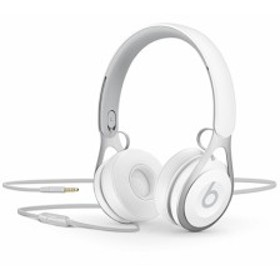 【新品即納】送料無料 beats by dr.dre 密閉型オンイヤーヘッドホン Beats EP ML9A2PA/A ホワイト ヘッドバンド型 マイク 有線接続 両耳