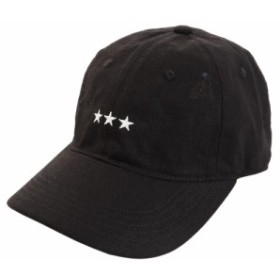 PGAC(PGAC)リネン刺繍キャップ 3Star 897PA9ST1741 BLK (Men's)