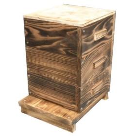 日本ミツバチ 巣箱 日本蜜蜂 重箱式 廉売価格 カスタマイズ可 注文製作