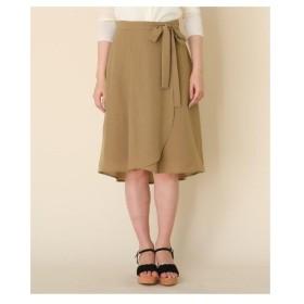 Couture Brooch(クチュールブローチ)【洗える】イレヘムリボンスカート