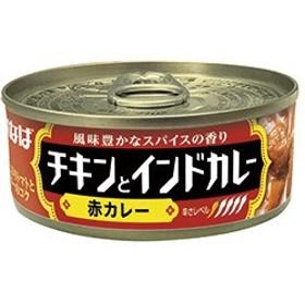 いなば食品 チキンとインドカレー 赤カレー 115g×48缶