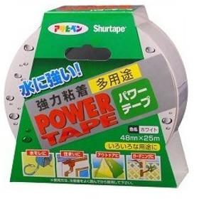 アサヒペン パワーテープ ホワイト 25m ( 1コ入 )/ アサヒペン