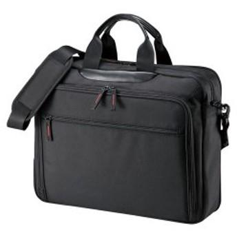 【送料無料】サンワサプライ マチ拡張PCバッグ BAG-W2BKN「他の商品と同梱不可/北海道、沖縄、離島別途送料」