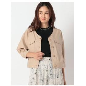 MEW'S REFINED CLOTHES(ミューズ)カラーレスミリタリージャケット
