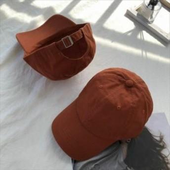 【送料無料】 CAP 無地 キャップ 帽子 レディース 夏 トレンド 流行 シンプル スポーツミックス