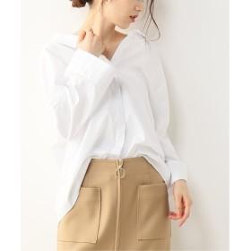 NOBLE 【ALANI the grey】別注バックリボンシャツ ホワイト S