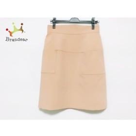 フォクシーニューヨーク スカート サイズ42 L レディース 美品 30824 ライトブラウン   スペシャル特価 20190826
