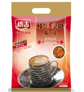 《廣吉》經典榛果拿鐵咖啡(20入/袋)