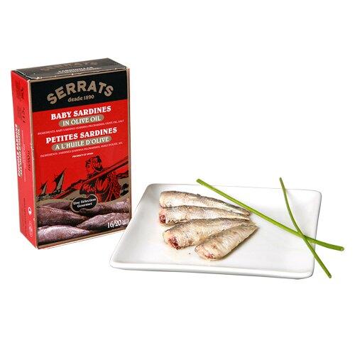 西班牙橄欖油沙丁魚罐