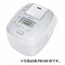 納期約1~2週間 Panasonic パナソニック SR-PB189-W 可変圧力IHジャー炊飯器(1升炊き) ホワイト おどり炊き SRPB189W