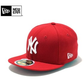 【メーカー取次】NEW ERA ニューエラ Kid's キッズ用 59FIFTY MLB ニューヨーク ヤンキース レッドXホワイトロゴ 11310401 キャップ 子供用 帽子 ブランド