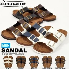 サンダル LAPUA KAMAA ラプア カーマ メンズ 2本ベルトタイプ コンフォート フットベッド シューズ 靴 LK-1303