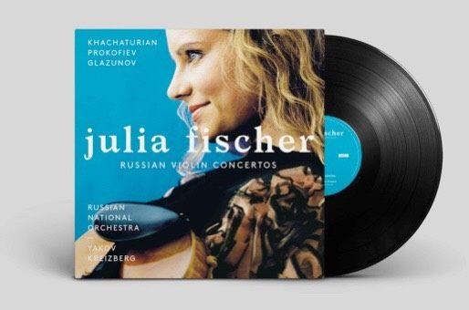 【停看聽音響唱片】【黑膠LP】茱莉亞費雪:俄羅斯小提琴協奏曲輯 (2LP)