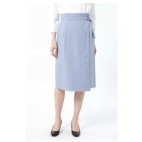 NATURAL BEAUTY(ナチュラルビューティー)アシンメトリーラップタイトスカート