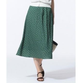 J.PRESS / ジェイプレス 【セットアップ対応】ランダムドットプリント スカート