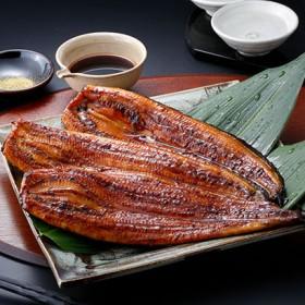 宮崎・「鰻楽」うなぎ蒲焼(九州産)3尾(計480g) 海産物