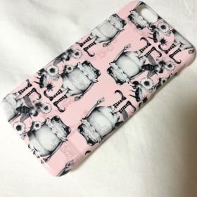 アウトレット商品【No.8】 iPhone6/6s プラスチックスマホケース カエル
