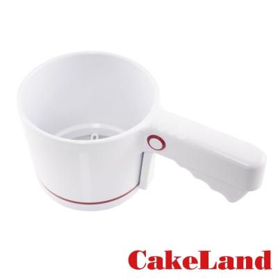 日本CAKELAND 手壓式麵粉篩