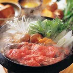 松阪牛すき焼モモ・バラ400g 精肉