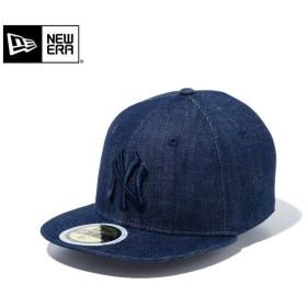 【メーカー取次】NEW ERA ニューエラ Kid's キッズ用 59FIFTY MLB ニューヨーク ヤンキース インディゴデニム 11596308 キャップ 子供用 帽子 ブランド
