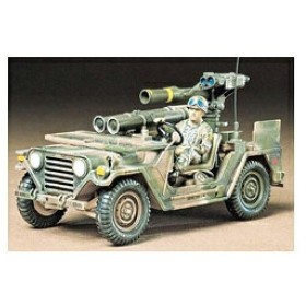 タミヤ M151A2ミサイルランチャー 1/35 ミリタリーミニチュアシリーズ No.125 アメリカ M151A2 トウミサイルランチャー