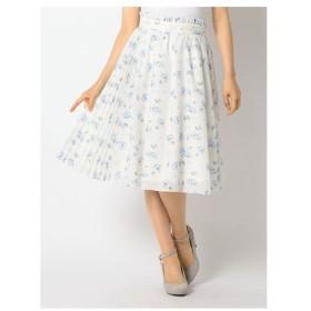 LODISPOTTO(ロディスポット)シャーベットボイルサイドプリーツスカート