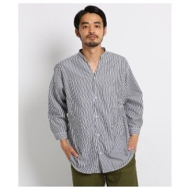 OPAQUE.CLIP(オペーク ドット クリップ)変形バンドカラーシャツ