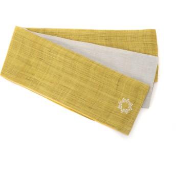 KIMONO by NADESHIKO KIMONO by NADESHIKO/キモノ バイ ナデシコ 半巾帯 和装小物,刺繍リース・黄