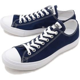 【日本正規品】CONVERSE コンバース スニーカー 靴 メンズ・レディース オールスター ライト ローカット ネイビー (32168845 SS18)