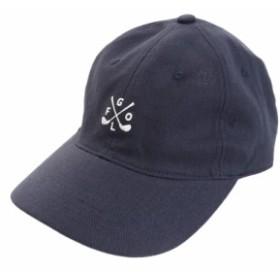 PGAC(PGAC)リネン刺繍キャップ GOLF 897PA9ST1742 NVY (Men's)