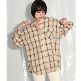[マルイ] チェックビッグシャツ/アナップ(ANAP)