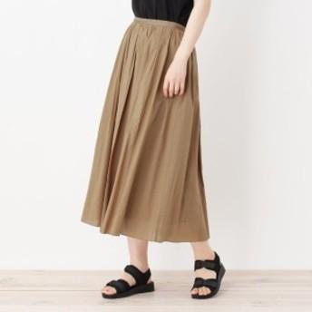 シューラルー(レディス)(SHOOLARUE Ladies)/【WEB限定サイズあり】コットンギャザーフレアスカート
