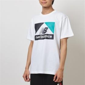 (NB公式)【40%OFF】(ログイン購入で最大8%ポイント還元) メンズ 【SALE】NBアスレチックアーカイブNB Tシャツ (ホワイト) ライフスタイル ウェア / トップス ニューバランス newbalance セール