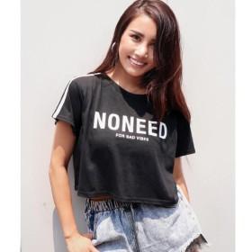 [マルイ]【セール】ダブルラインクロップドTシャツ/アナップ(ANAP)