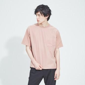 [マルイ]【セール】布帛コンビ半袖Tシャツ/アバハウス(ABAHOUSE)