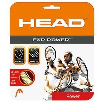 ヘッド HEAD 硬式テニスストリング ガット 「FXP POWER16(エフエックスピー パワー)281007」[ポスト投函便対応]
