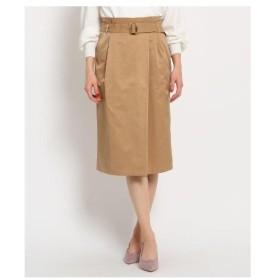 AG by aquagirl(エージー バイ アクアガール)【Lサイズあり】ベルテッドラップ風スカート