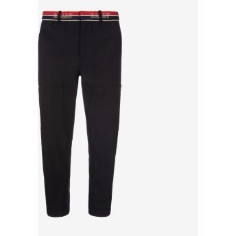 Men'S Wool Pants ブラック