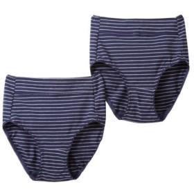 【WEB限定】綿混ストレッチお腹らくちんショーツ2枚組 スタンダードショーツ,Panties