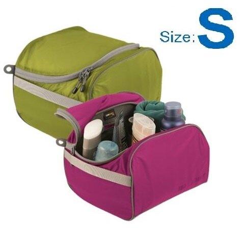 【【蘋果戶外】】Sea to summit ATLTCSLI 旅行用盥洗包『S/3L/67g』旅行包 打理包 收納袋 化妝包 出國必備 萊姆綠 桃紅 兩色 STSATLTCSLI