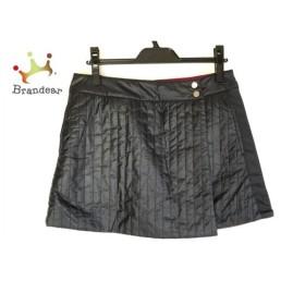 カルバンクライン 巻きスカート サイズ9 M レディース 美品 黒×レッド golf/リバーシブル   スペシャル特価 20191014