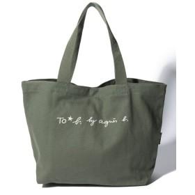 アニエスベー WI03 SAC ロゴトートバッグ レディース カーキ F 【agnes b.】