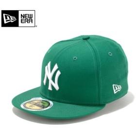 【メーカー取次】NEW ERA ニューエラ Kid's キッズ用 59FIFTY MLB ニューヨーク ヤンキース ケリーXホワイトロゴ 11310402 キャップ 子供用 帽子 ブランド