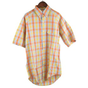 COMME des GARCONS SHIRT(コムデギャルソンシャツ)ブロックチェック半袖シャツ