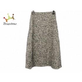 マルティニーク martinique ロングスカート サイズ1 S レディース 美品 黒×白   スペシャル特価 20190922